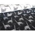 Úplet - žirafky bílé na černé