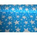 Úplet - hvězdy tyrkysové