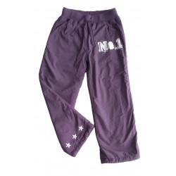 Zateplené sportovní kalhoty s fleecem-vel.146